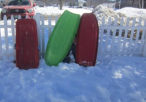 sled house