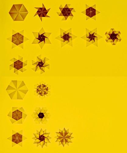 Origami Origami Snowflake / Star / Flower (Shuzo Fujimoto)