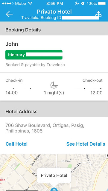 Traveloka App Hotel Voucher