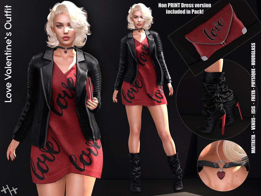 Hilly Haalan - Love Valentine's Outfit - TeleportHub.com Live!
