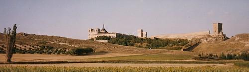 Le monastère et le château, Uclés, province de Cuenca, Castille-La Manche, Espagne.