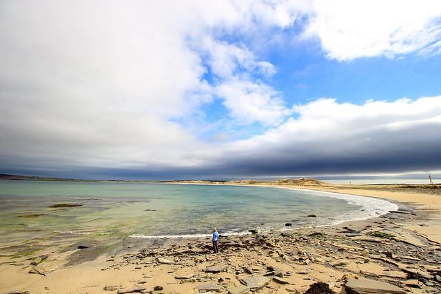 Castletown Beach and Dunnet Bay, Scotland.