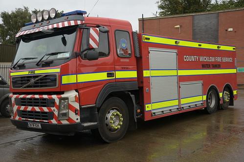 Wicklow County Fire Service 2004 Volvo FM HPMP Fire WrC 04W634