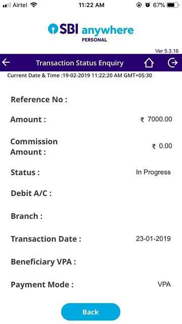 SBI BHIM Payment