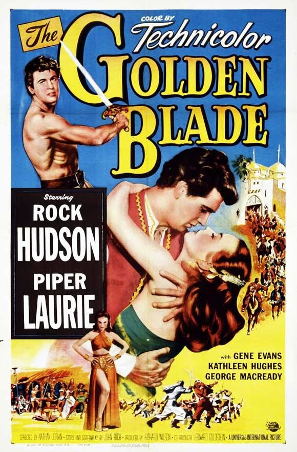 The Golden Blade - Poster 1
