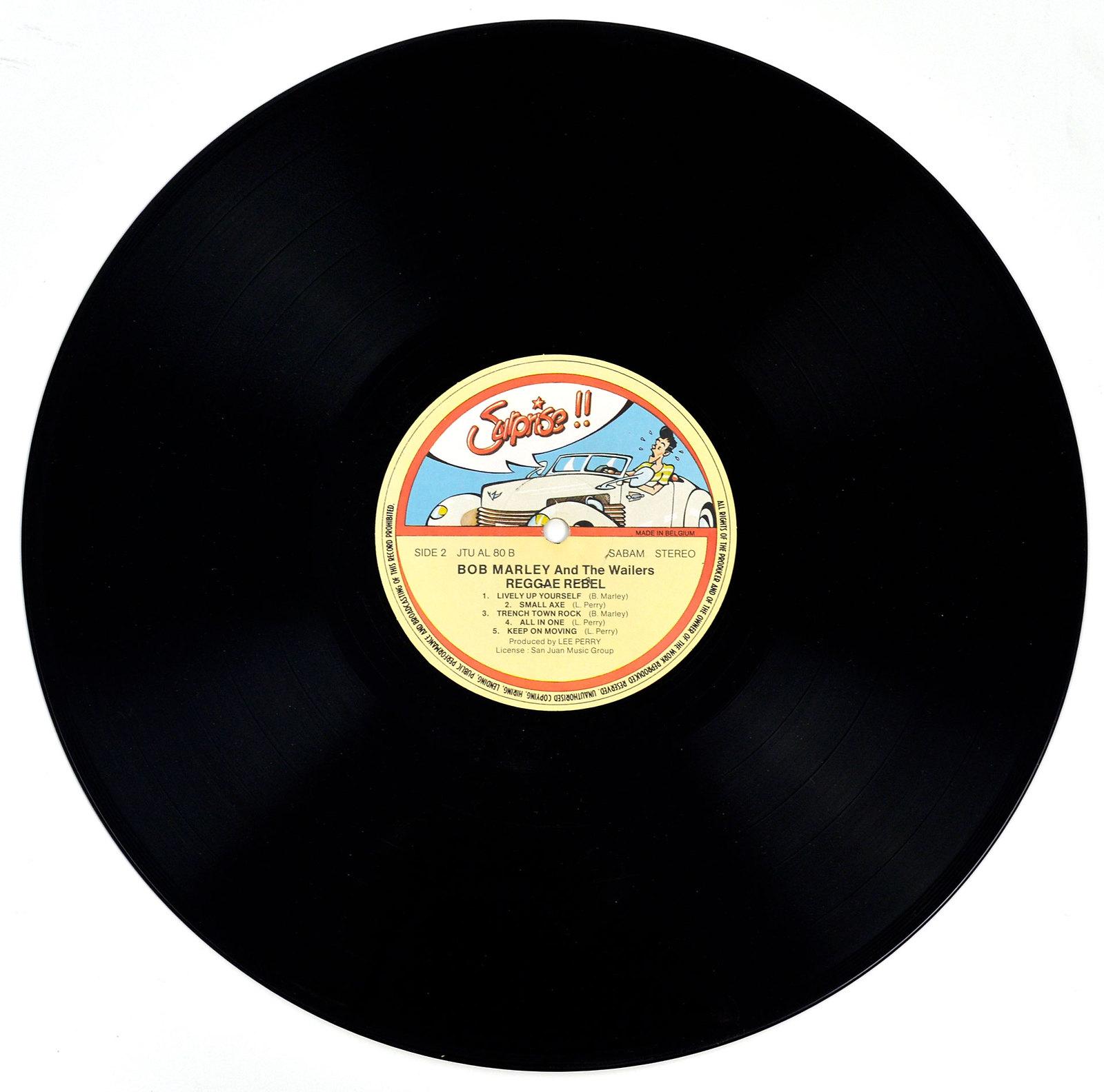 A0670 BOB MARLEY and the Wailers Reggae Rebel