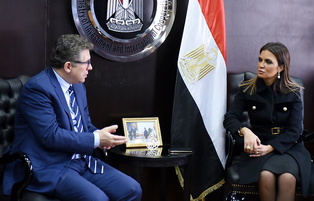 Khaled Sherif, Vice-President of Regional Development, Integration and Business Delivery, meets with Egyptian Government, March 4-7, 2019 in Cairo.
