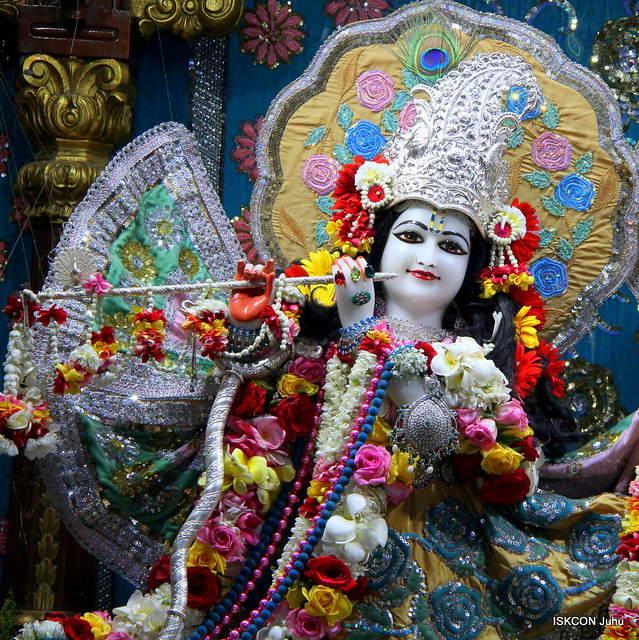 07 Mar 2019 Sringar Darshan ISKCON Juhu Mumbai