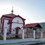 Литургия  в храме Усекновения главы Иоанна Предтечи села Прасковеевка.