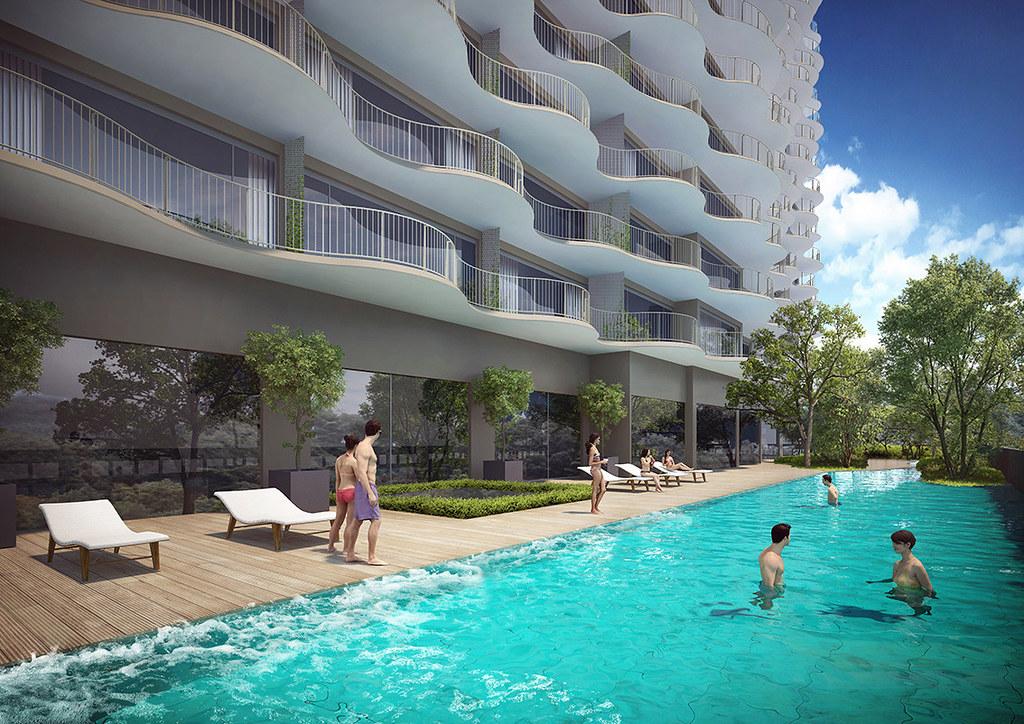 Waterina Suites Quận 2 - Kỳ quan kiến trúc hiện đại từ Nhật 1