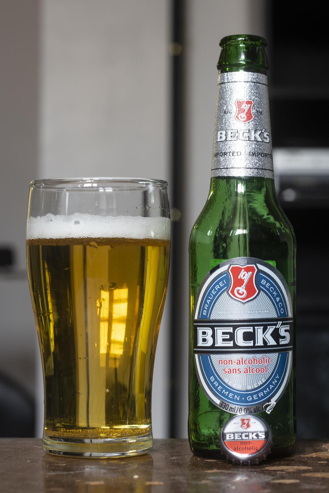 Becks non alcoholic beer carbs