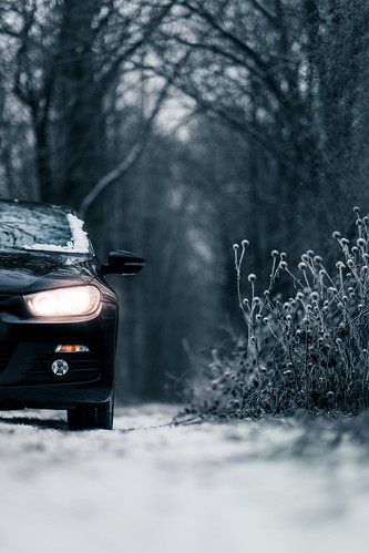 VW Scirocco in Winter from Toni Hoffmann