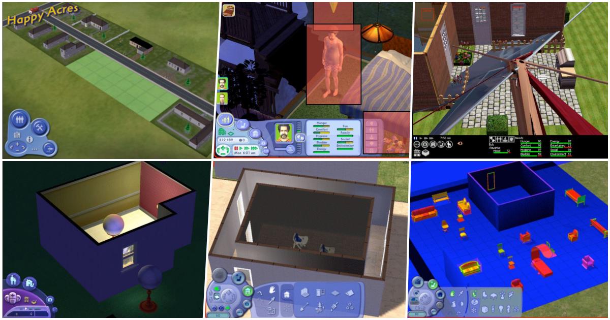 Foto de Imagens Inéditas do The Sims 2 em Estágio de Desenvolvimento