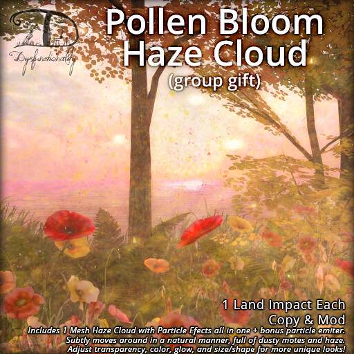 Pollen Bloom Haze Cloud