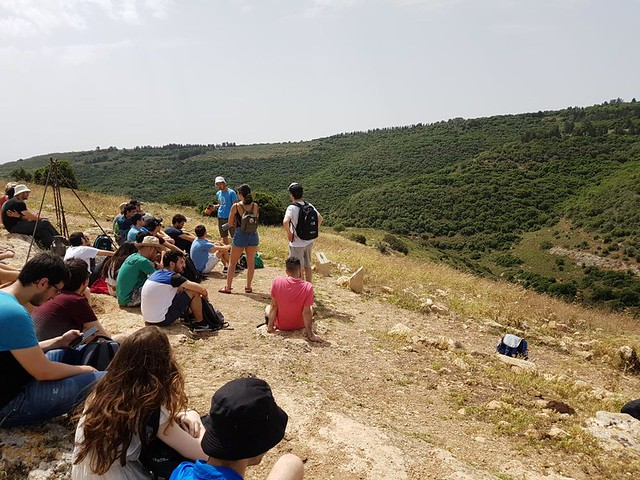 2.5.2018 Guided trip to Yodfat and Zippori