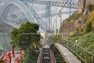 Obrázek Ponte Dom Luís I. domluísibridge funiculardosguindais guindaisfunicular pontededomluísi porto