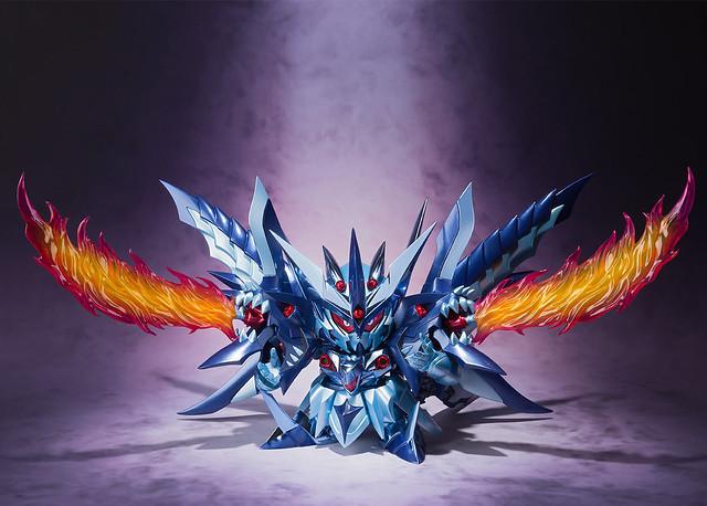 邪龍神降臨!SDX《新SD鋼彈外傳 黃金神話》暗黑超越之龍(スペリオルドラゴンダーク)
