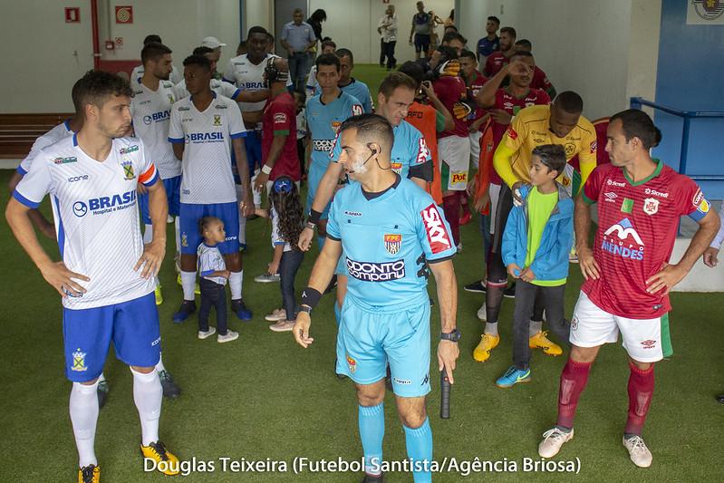Santo André 2 x 2 Portuguesa Santista