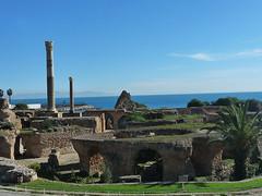 Kartágo: V římských lázních Hannibalova města
