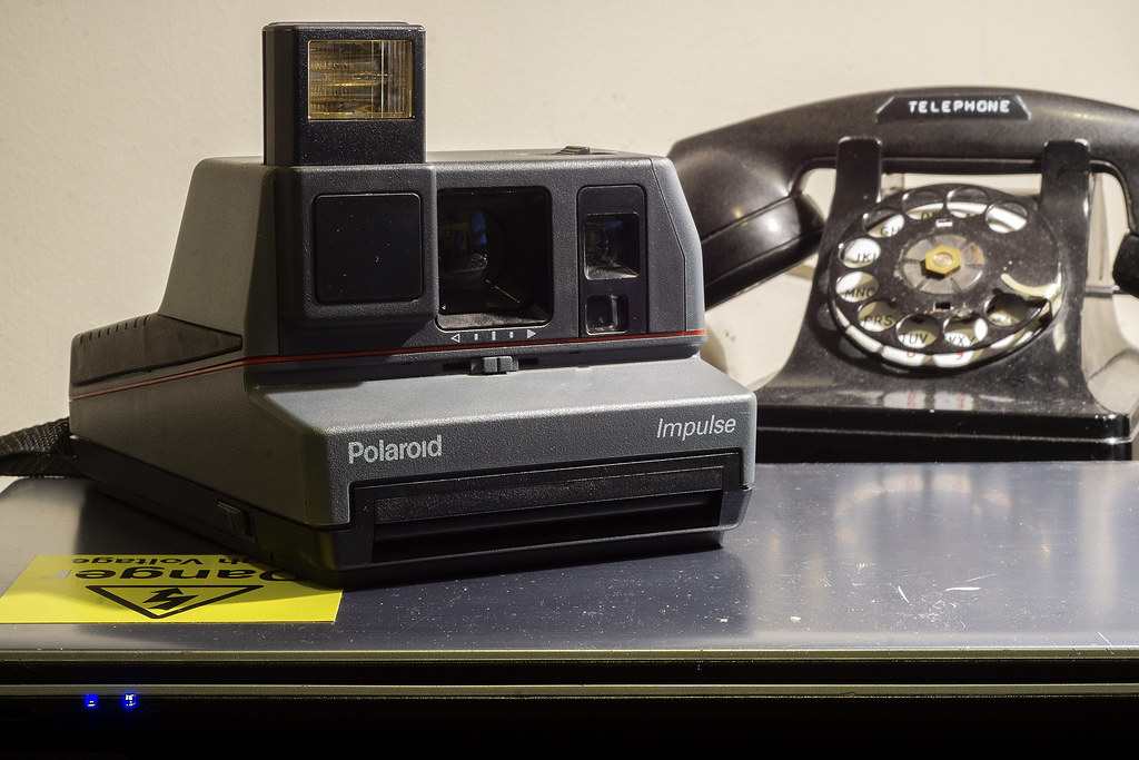 Camera Review Blog No. 105 - Polaroid Impulse