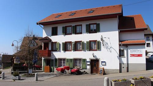 Restaurant Eichhörnli in der Gemeinde Aeugst (696 m.ü.M