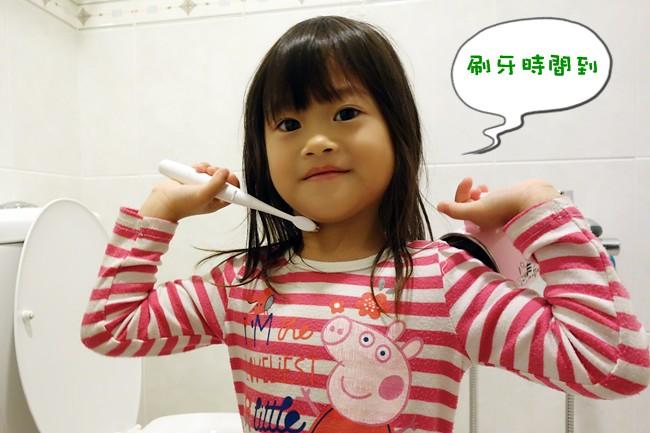 兒童牙刷推薦 AGUARD 兔兔兒童電動牙刷 - (10)