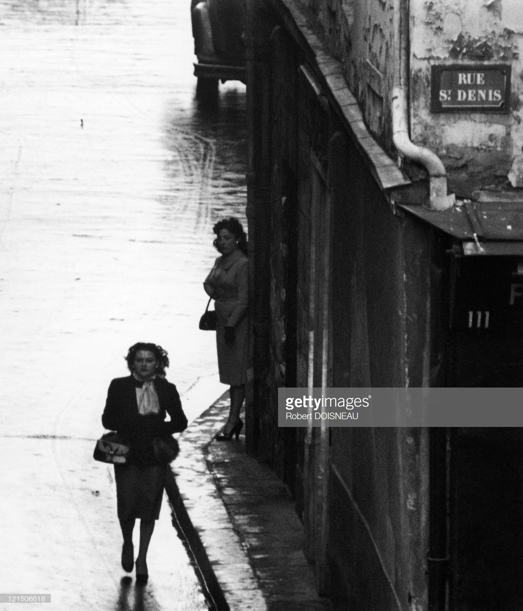 1953. Проститутка, улица Сен-Дени, Париж
