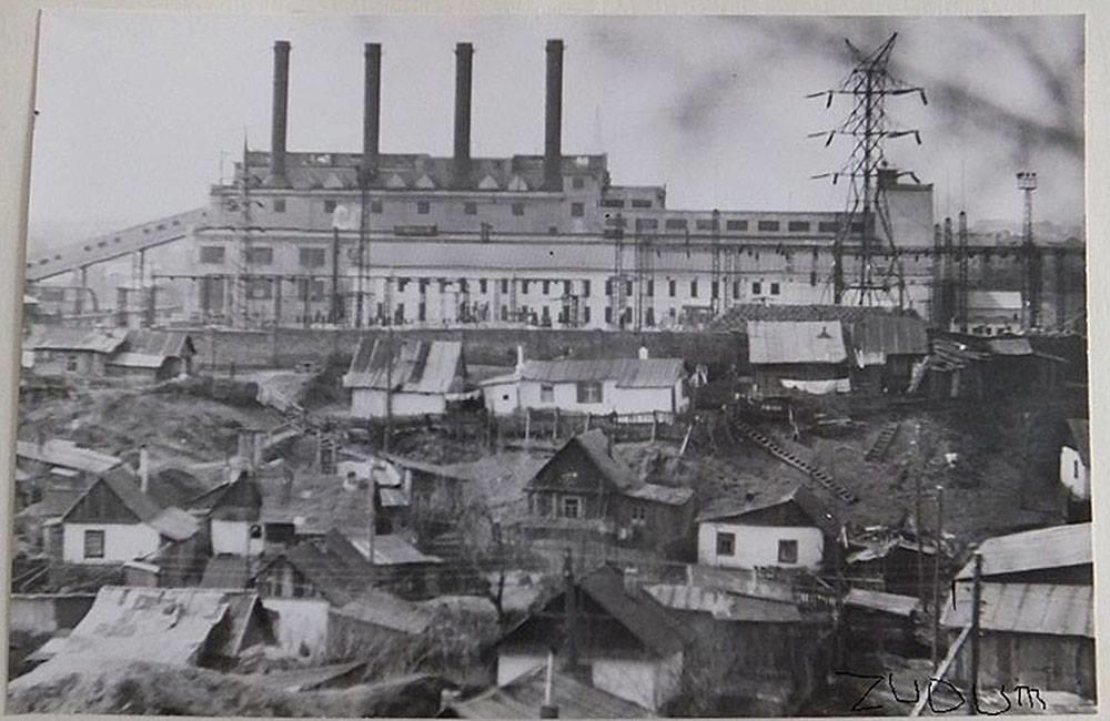 1 Станция ТЭЦ № 2 в довоенный период. Построена в 1934 г.  Первоначальная мощность 6,8 тыс. кВт.