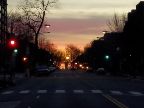 Sunrise over Dupont Circle