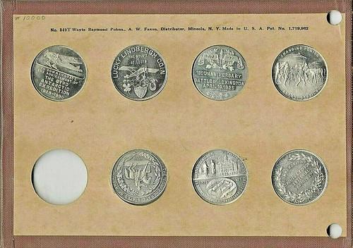 National coin holder 349Y - back