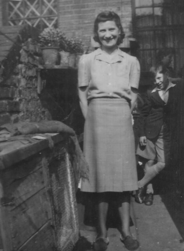 Mum and Roy