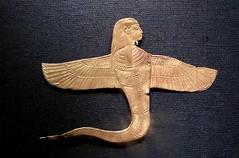 Uraeus à tête humaine muni d'ailes, 1336-1326 av. J.-C.
