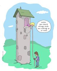yeah Rapunzel, but...