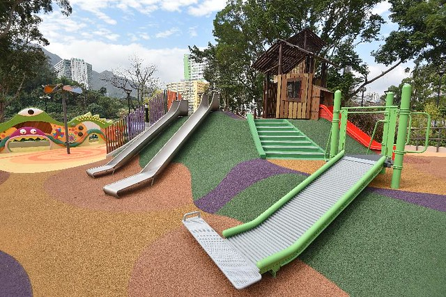 香港首個共融遊樂場於屯門公園開放