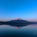 Reflection - Mt.Fuji by yamanaito