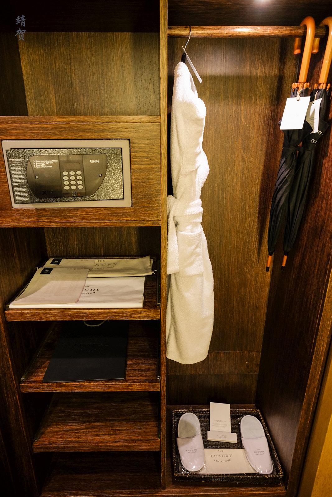 In-closet safe