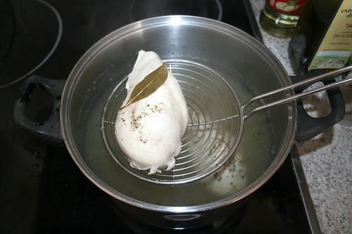 07 - Hähnchen entnehmen / Take out chicken breasts
