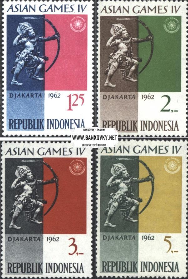 Známky Indonézia 1962 Ázijské hry