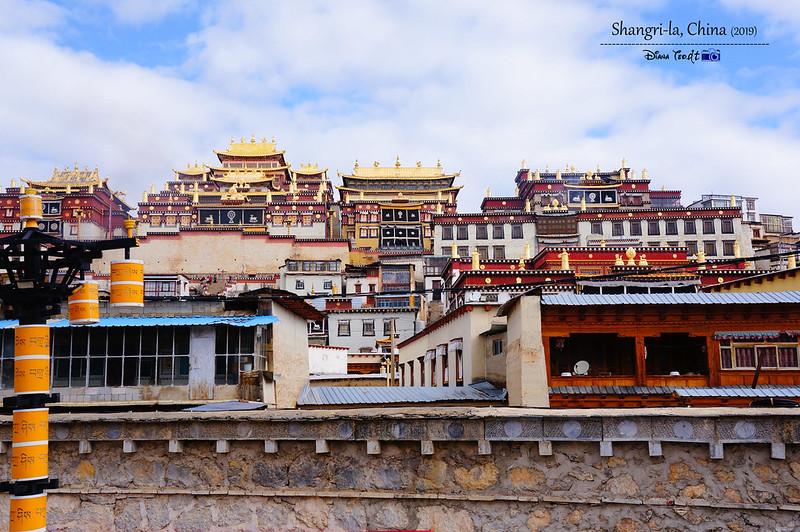 2019 China Shangri-la Yunnan Ganden Sumtseling Monastery 01