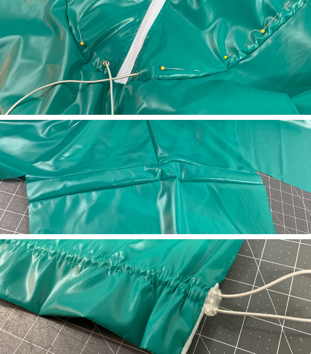 Track Jacket Sewing Steps