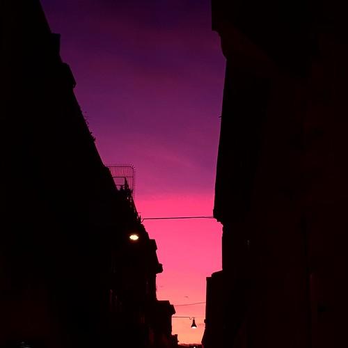 Roma: tramonto in centro
