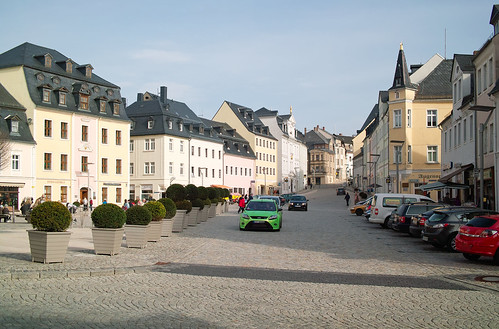Schneeberg - Marktplatz