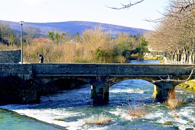 Арочный мост в Стоце
