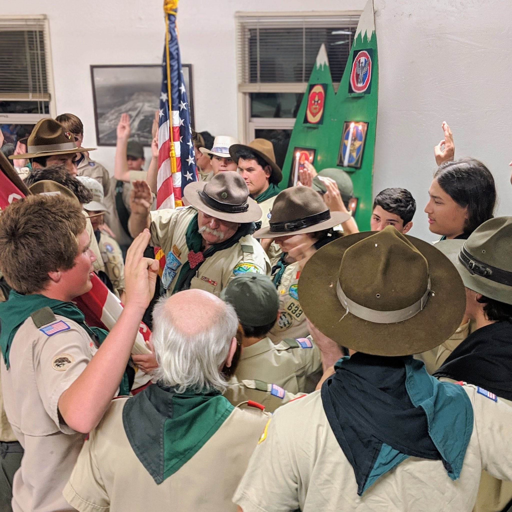 Scouts' Court of Honor