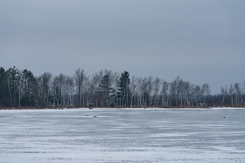 Yellow Lake, Wisconsin in Winter