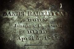 DANIEL HARKLEROADE MONUMENT