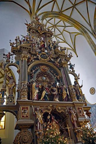 2019-01-27 Augsburg 020 St. Ulrich und Afra, Altar der Afra