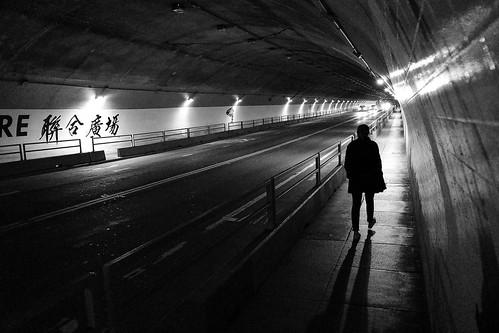 Stockton Tunnel at Night