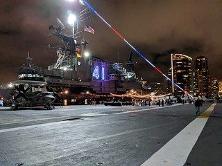 An Evening Aboard the Midway - Questionmark Conference 2019
