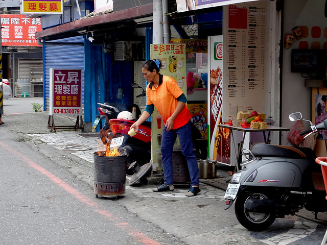 Photo:Burning in Hualien By Claire Backhouse